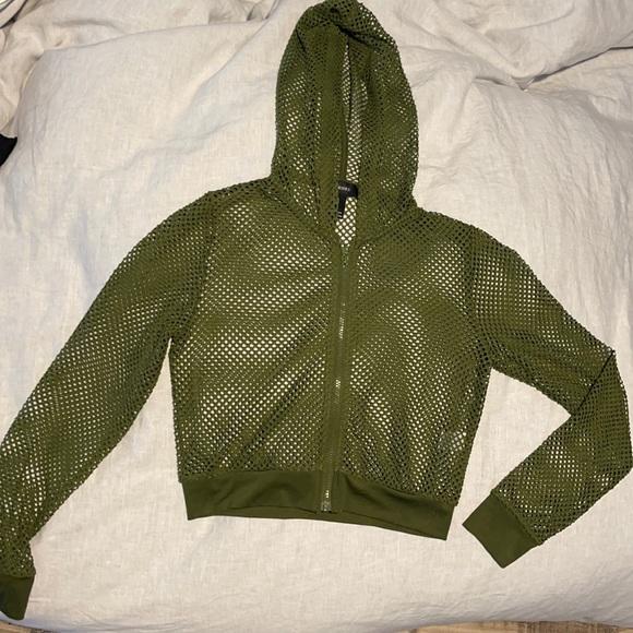 Forever 21 medium fishnet jacket